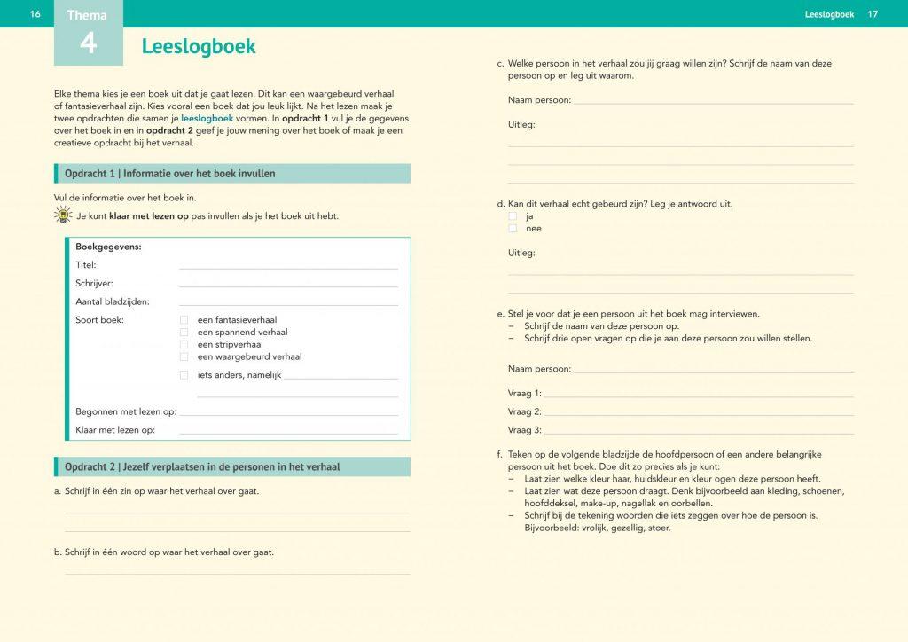 Starttaal Vooraf leeslogboek